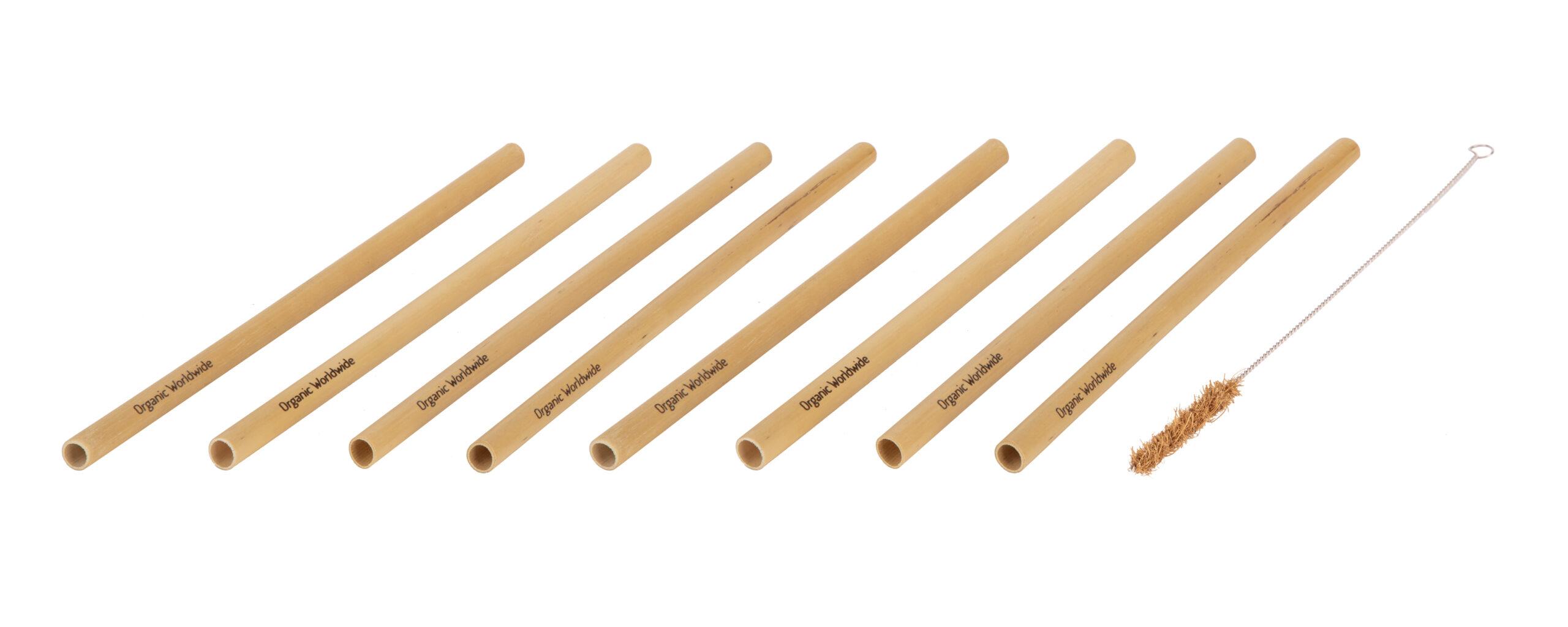 Bamboo Straw Pack (8)